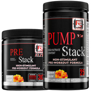 Buy Elite Pre-Stack and Pump Stack and save $50 - Fitness Stacks