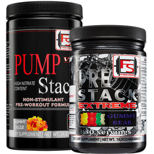 Buy Extreme Pre-Stack and Pump Stack and save $50 - Fitness Stacks