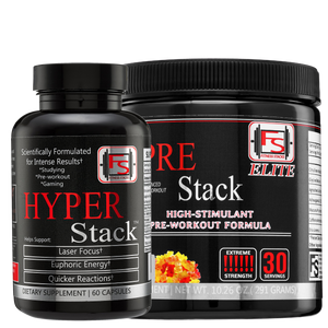 Buy Elite Pre-Stack and Hyper Stack and save $50 - Fitness Stacks