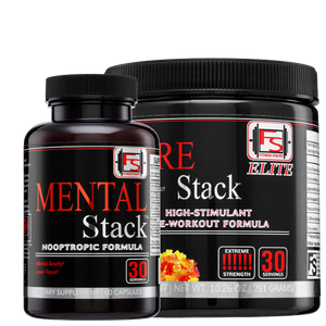 Buy Elite Pre-Stack and Mental Stack and save $60 - Fitness Stacks
