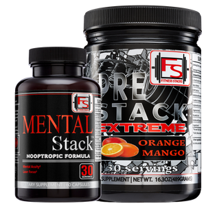 Buy Extreme Pre-Stack and Mental Stack and Save $50 - Fitness Stacks