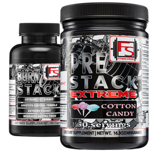 Buy Elite Pre-stack Burn Stack Bundle and save $10 - Fitness Stacks