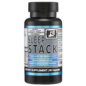 SLEEP STACK - SLEEP AID & RECOVERY SUPPLEMENT - Fitness Stacks