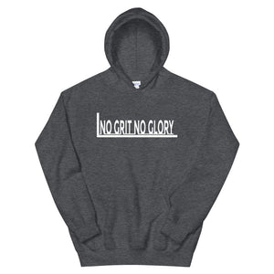 No Grit No Glory Hoodie - Fitness Stacks