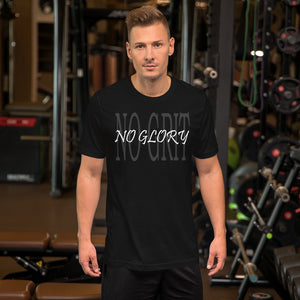 No Glory Short-Sleeve T-Shirt - Fitness Stacks