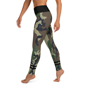 Camo Yoga Leggings - Fitness Stacks