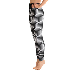 3D Yoga Leggings - Fitness Stacks