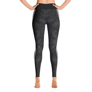 Stripe Black Camo Yoga Leggings