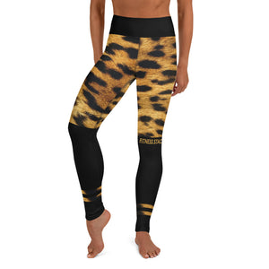Leopard Yoga Leggings - Fitness Stacks