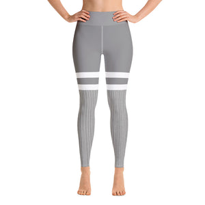 Two-Tone Yoga Leggings - Fitness Stacks