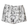 BLACK MARBLE LOUNGE SHORT