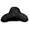 BLACK RAINBOW STARS BF PILLOW