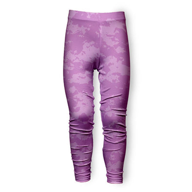 BLEACHED DOUBLE PINK TIE DYE LEGGING