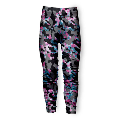 CAMO TIE DYE COTTON CANDY LEGGING
