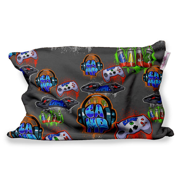 CAMP DJ FUZZY PILLOW