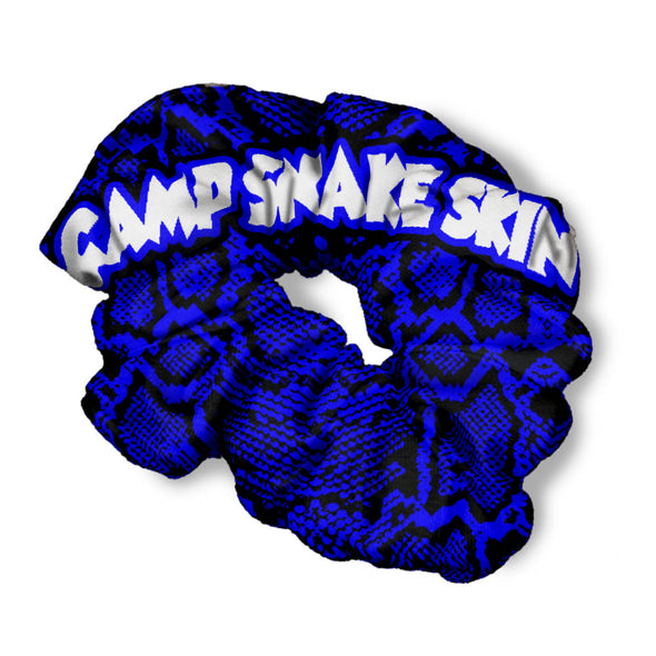 CAMP SNAKE SKIN SCRUNCHIE
