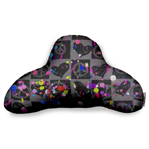 CHECKER SPLAT BF PILLOW