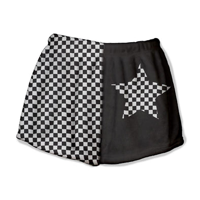 CHECKERED LOUNGE SHORT