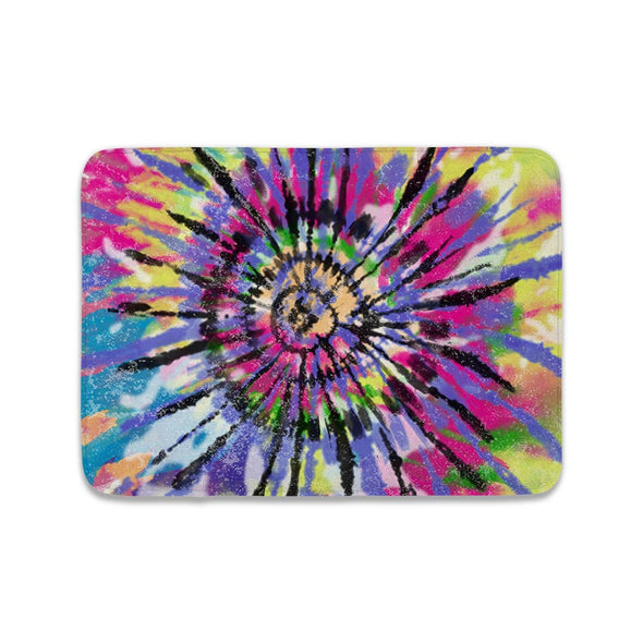 COLORFUL TIE DYE MAT