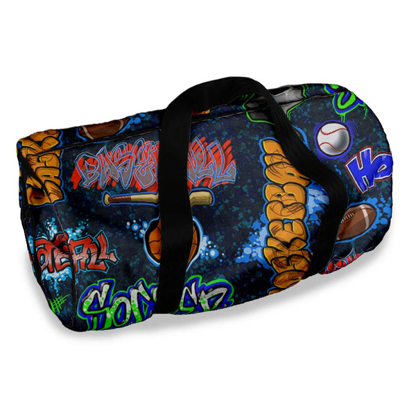 CRAZY SPORTS DUFFLE BAG