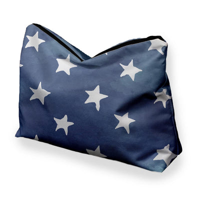 DENIM STAR COSMETIC BAG