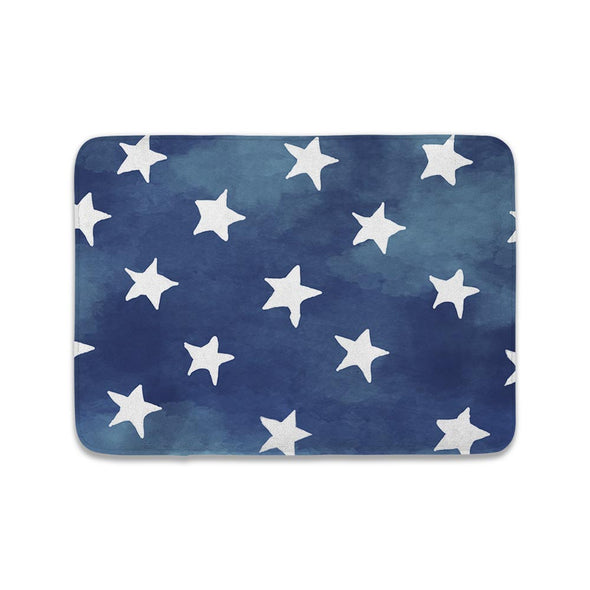 DENIM STAR MAT