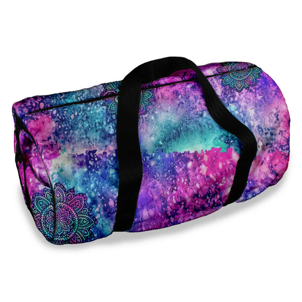 FLOWER GALAXY DUFFLE BAG