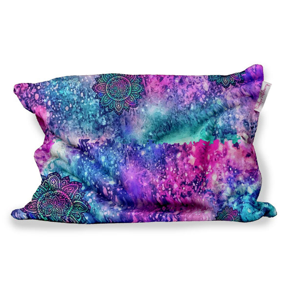 FLOWER GALAXY FUZZY PILLOW