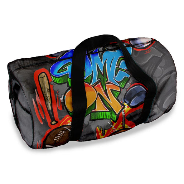 GAME ON DUFFLE BAG