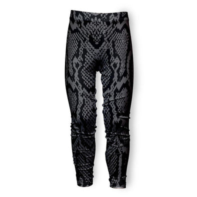 GREY SNAKE SKIN LEGGING