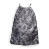 INKED TIE DYE GREY SLING BAG