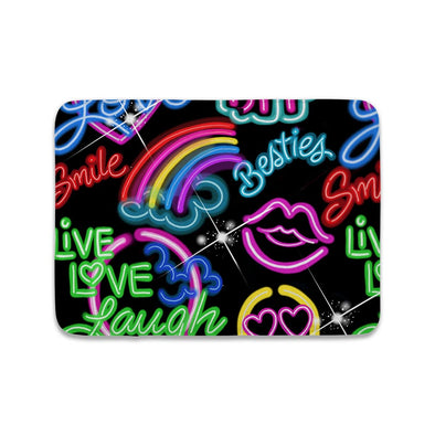 NEON LIGHTS MAT