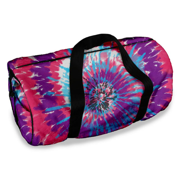 NEW TIE DYE DUFFLE BAG