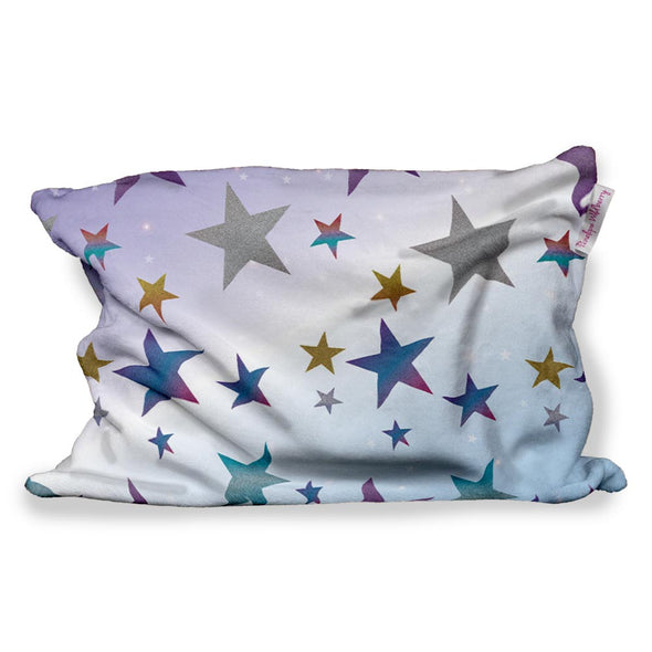 OG GLITTER STAR FUZZY PILLOW