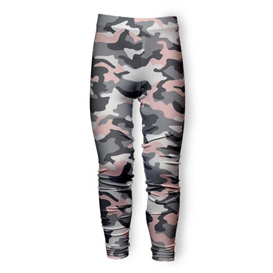 PINK GREY CAMO LEGGING
