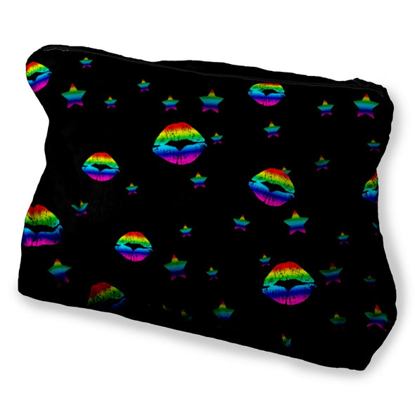 RAINBOW LIPS COSMETIC BAG