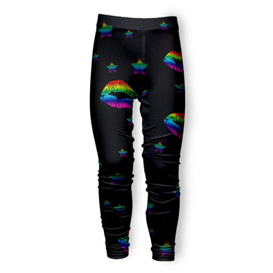 RAINBOW LIPS LEGGING