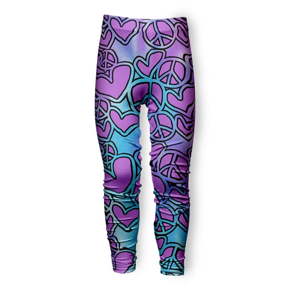 SKETCHY HEARTS LEGGING