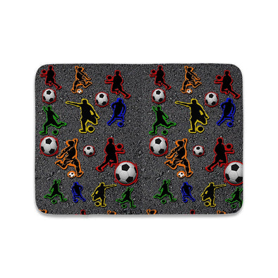 SOCCER ON CONCRETE MAT
