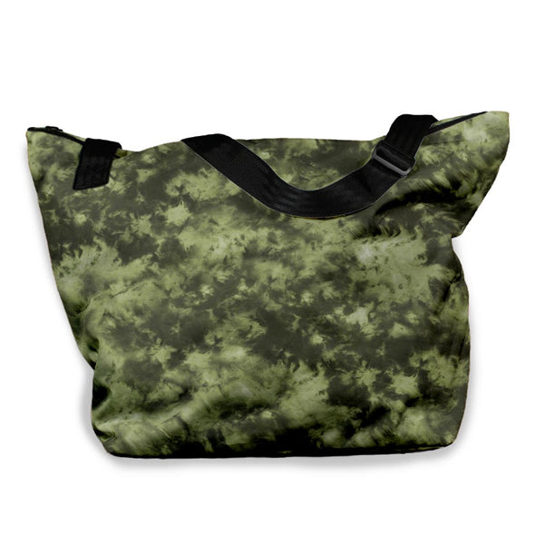 STORM CLOUD BLACK ARMY TIE DYE VACAY TOTE