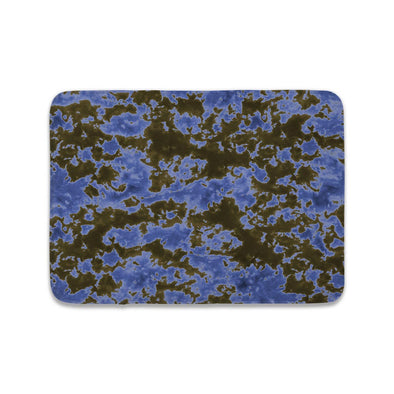 STORM CLOUD BLACK BLUE TIE DYE MAT
