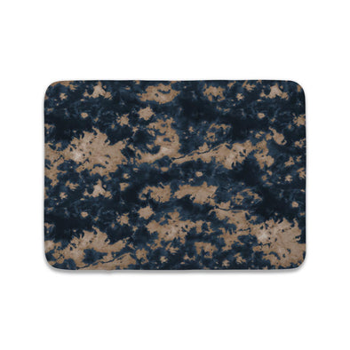 STORM CLOUD NAVY BROWN TIE DYE MAT