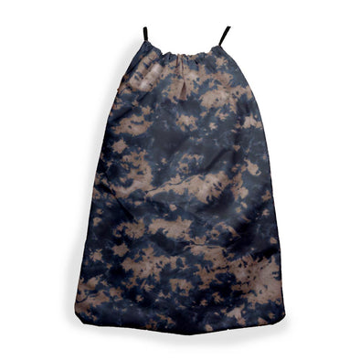 STORM CLOUD NAVY BROWN TIE DYE SLING BAG