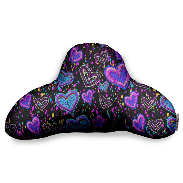 SWIGGLE HEARTS BF PILLOW