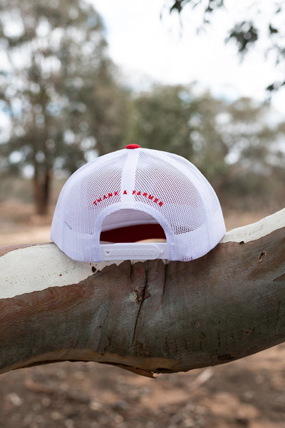 Retro Truckers - Red & White