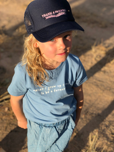 Youth - When I Grow Up I Want To Be A Farmer Tee