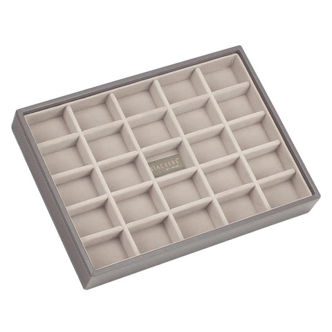 Stackers Mink & Grey Classic 25 Section Jewellery Tray