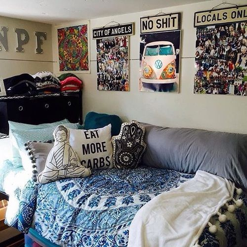Essential Tips For Decorating Dorm Room In Bohemian Style