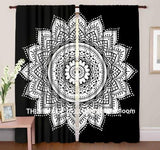 Popular Mandala Curtains and Trippy Curtains , Hippie Window Drapes by Jaipur Handloom