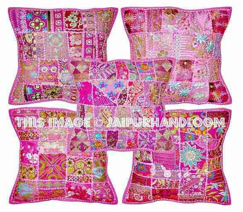 16X16 Decorative patchwork throw pillows